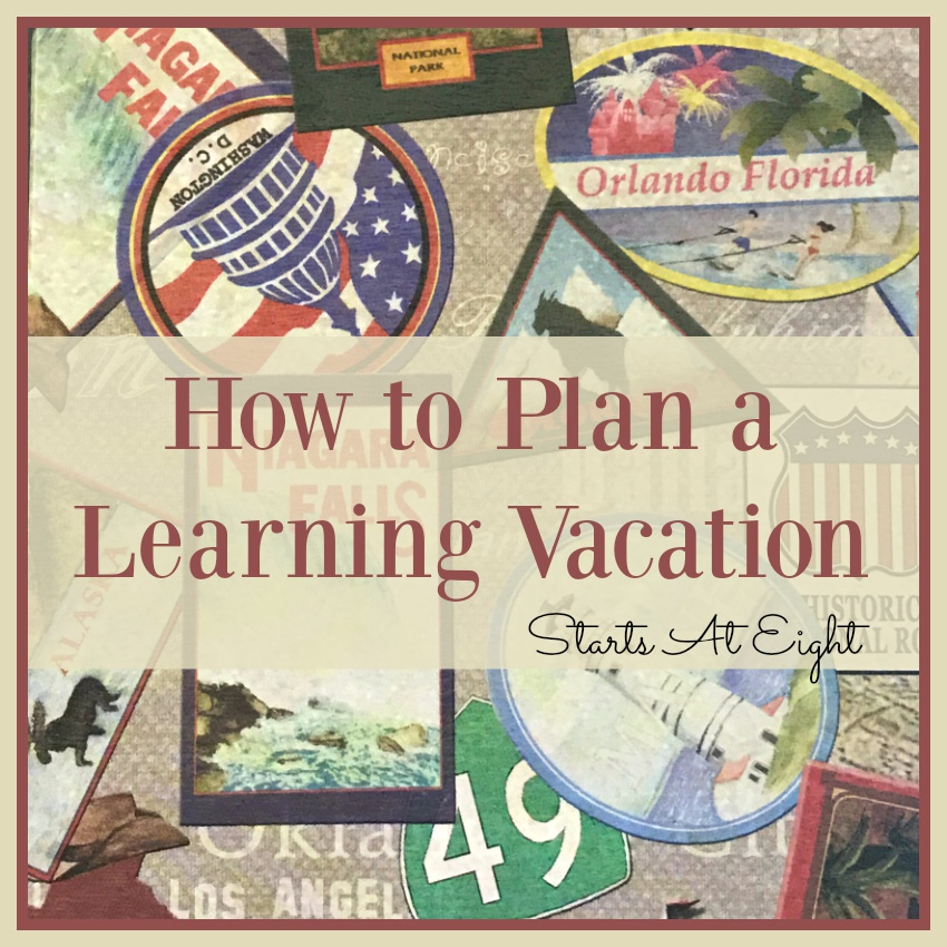 How to Plan a Learning Vacation