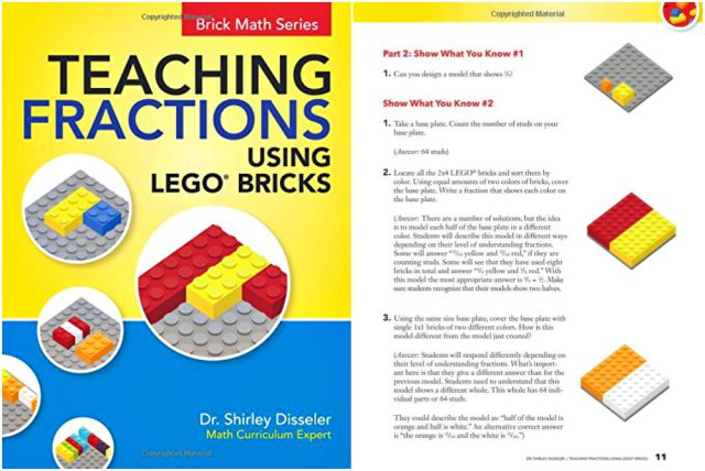Teaching Fractions Using Lego Bricks