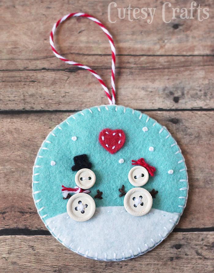 Felt Diy Christmas Ornaments For Kids Startsateight
