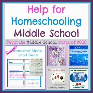 Favorite Homeschool Middle School Posts from Starts At Eight. A plethora of posts from art and history to math and science to help you homeschool middle school.
