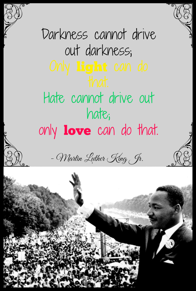 Martin Luther King Jr. Quote from Starts At Eight