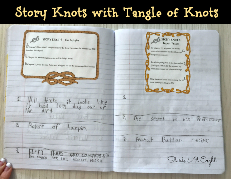 Story Knots (Discussion Questions) with Tangle of Knots