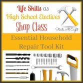 Life Skills as High School Electives: Essential Household Repair Tool Kit