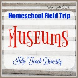 Homeschool Field Trip – Museums Help Teach Diversity