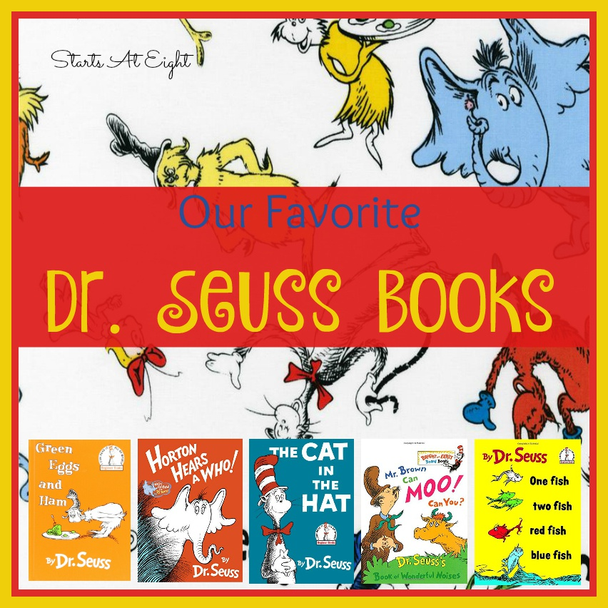 Our Favorite Dr Seuss Books