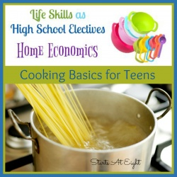 Life Skills as High School Electives: Cooking Basics for Teens