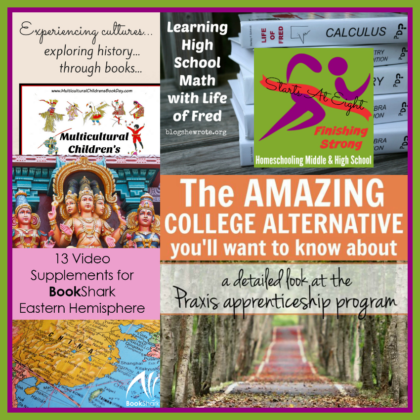 Finishing Strong ~ Homeschooling the Middle & High School Years #116 from Starts At Eight