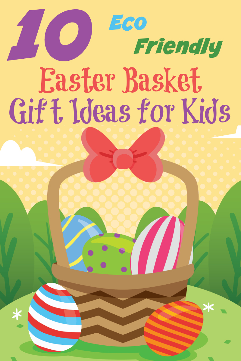 10 Eco-Friendly Easter Basket Gift Ideas for Kids from Starts At Eight offers up some creative, fun, and Earth friendly options to include in your kids Easter Baskets this year! Easter Basket Ideas for boy and Easter Basket Ideas for Girls!