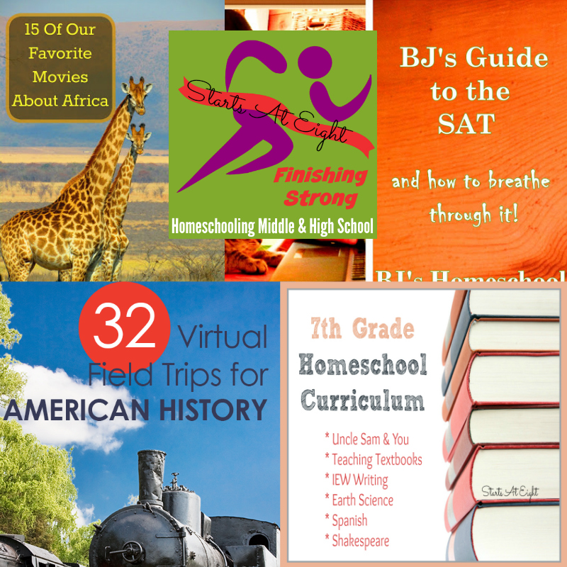 Finishing Strong ~ Homeschooling the Middle & High School Years  #123 from Starts At Eight