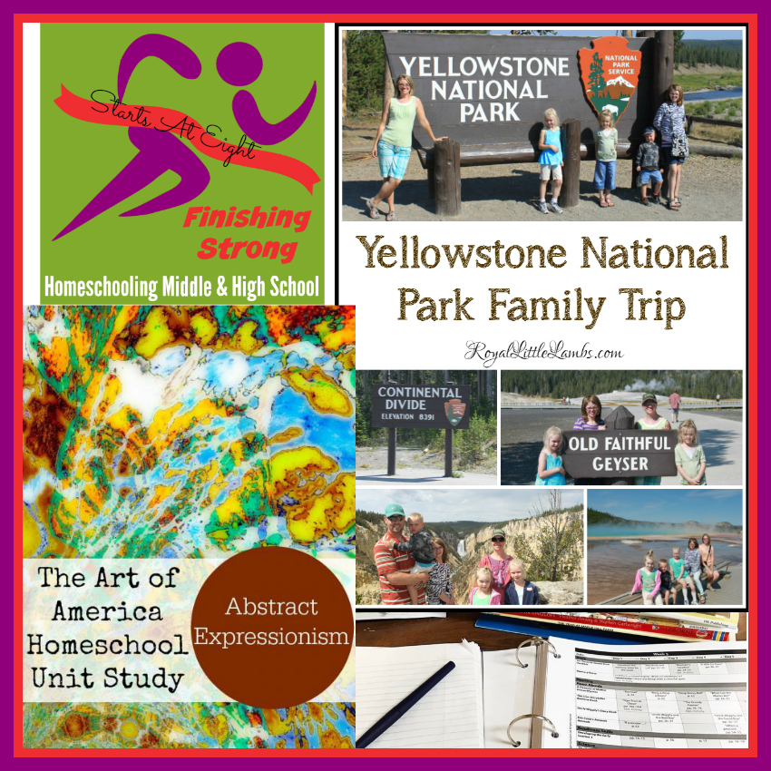 Finishing Strong ~ Homeschooling the Middle & High School Years #124 from Starts At Eight