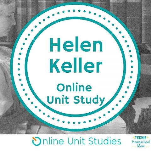 Helen Keller Online Unit Study