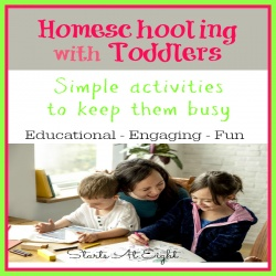 Homeschooling With Toddlers – Simple Activities to Keep Them Busy