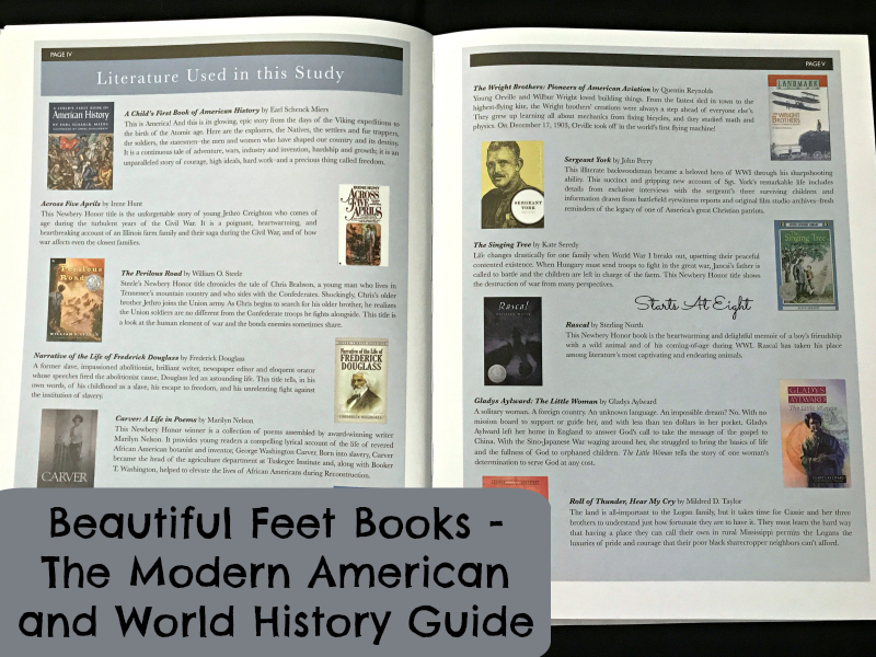 Teaching Middle School History Through Literature from Starts At Eight. Literature is a great way to bring history alive! Beautiful Feet Books offers History Curriculum using literature to make it fun and engaging!