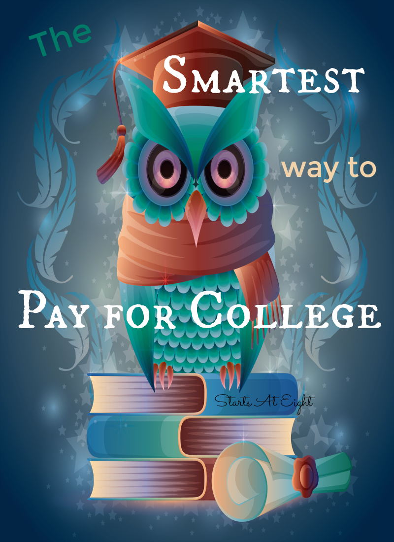 The Smartest Way to Pay for College from Starts At Eight. Anthony ONeal, author of Graduate Survival Guide: 5 Mistakes You Can't Afford to Make in College talk about the smartest way to pay for college.