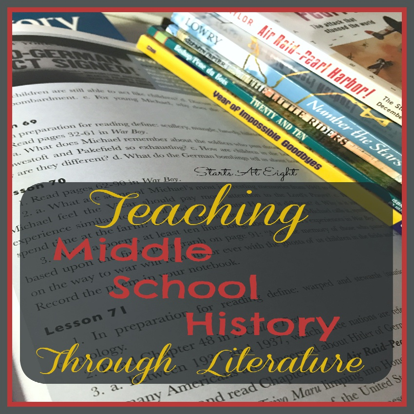 Teaching Middle School History Through Literature