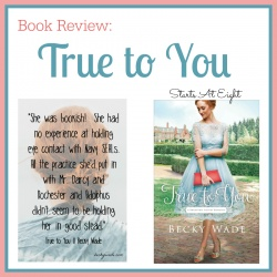 True to You Book Review