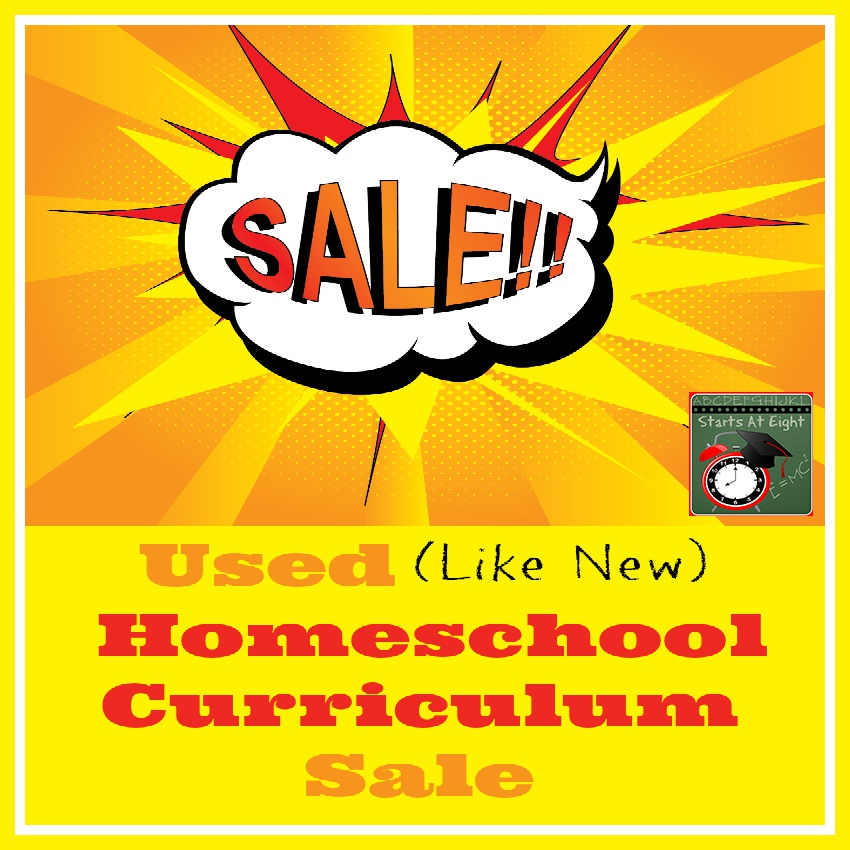 Used Homeschool Curriculum Sale