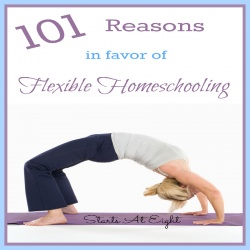 101 Reasons in Favor of Flexible Homeschooling
