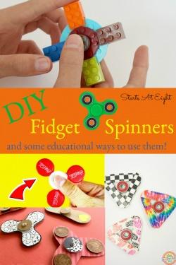 4+ DIY Fidget Spinners
