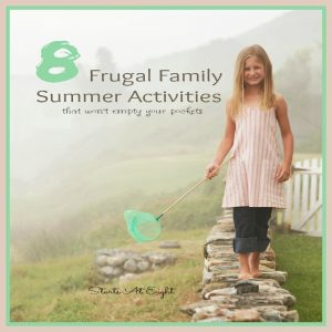 8 Frugal Family Summer Activities {that won't empty your pockets} from Starts At Eight offers up fun and inexpensive options for you to enjoy with your family this summer.