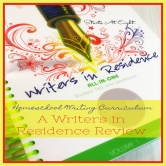 Homeschool Writing Curriculum: A Writers in Residence Review