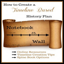 How to Create a Timeline Based History Plan
