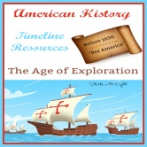 American History Timeline Resources:  Before 1630 – Pre America