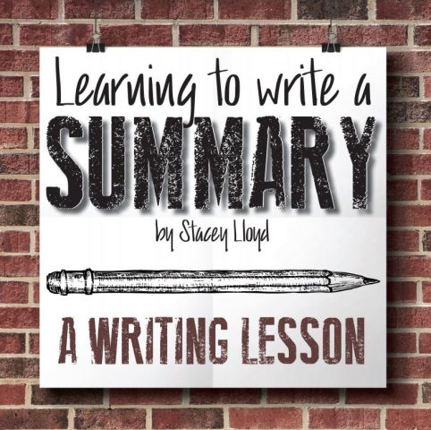 how to write a learning summary