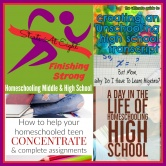 Finishing Strong ~ Homeschooling the Middle & High School Years #137