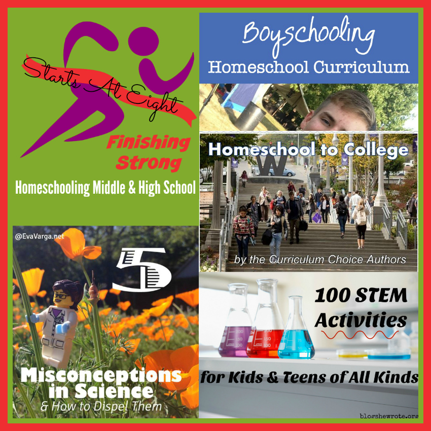 Finishing Strong ~ Homeschooling the Middle & High School Years #138 from Starts At Eight