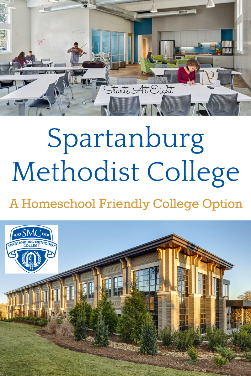 Spartanburg Methodist College - A Homeschool Friendly College Option from Starts At Eight. Spartanburg Methodist College is a homeschool friendly two year college offering small class sizes and personal attention.