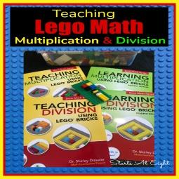 Lego Math: Teaching Multiplication & Division
