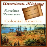 American History Timeline Resources: Colonial America