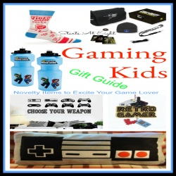 Gaming Kids Gift Guide – Novelty Items to Excite Your Game Lover