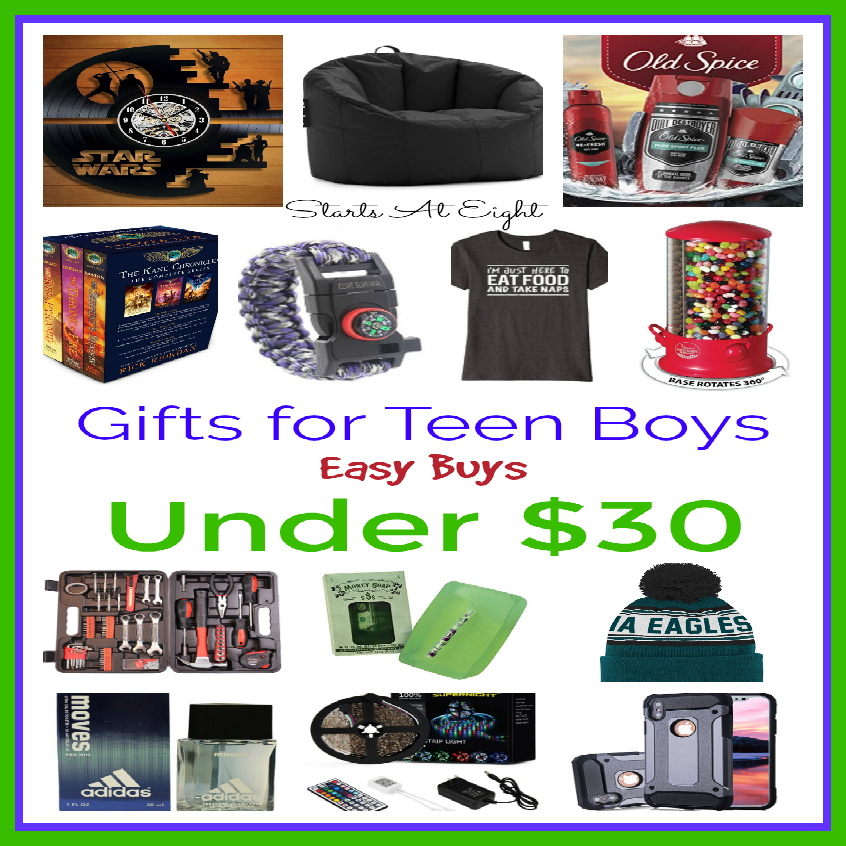 Gifts for Teen Boys: Easy Buys Under $30 - StartsAtEight