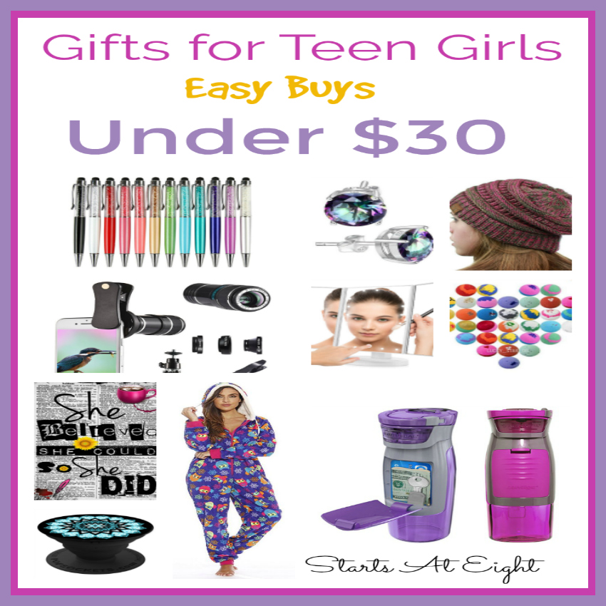 Girlfriend Christmas Gifts 2019: Easy Buys Under $30: Gifts For Teen Girls