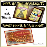 Deer in the Headlights Family Dinner & Game Night