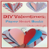 DIY Valentine: Paper Heart Books
