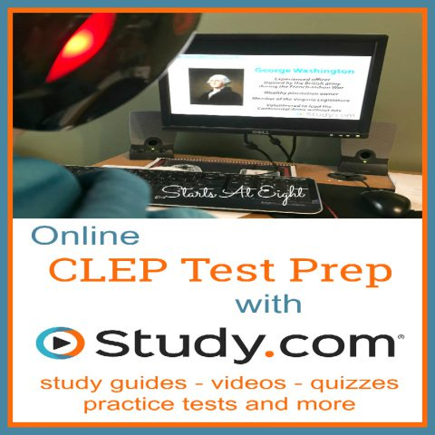 Online CLEP Test Prep with Study.com from Starts At Eight. Study.com makes it easy for students to earn college credit by helping with CLEP Test Prep via their online program, They offer study guides, practice tests and more!