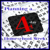 Planning a 4 Day Homeschool Week