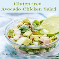 Gluten-free Avocado Chicken Salad
