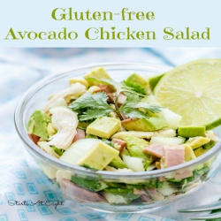 Gluten-free Avocado Chicken Salad