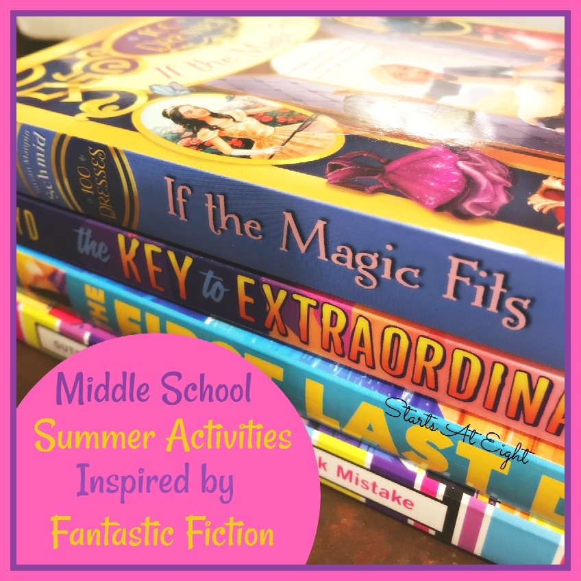Middle School Summer Activities Inspired by Great YA Books