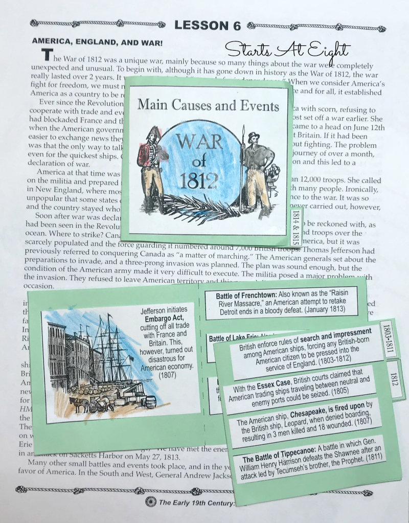 American History Timeline Resources: The Young Republic & Westward Expansion includes resources, books, videos, and projects for studying this time period in American History. Check out our Constitution, learn about Eli Whitney, and travel down the Oregon Trail as you learn about this time period!