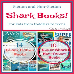Super Shark Books! Fiction and Non-Fiction for Toddler to Teen