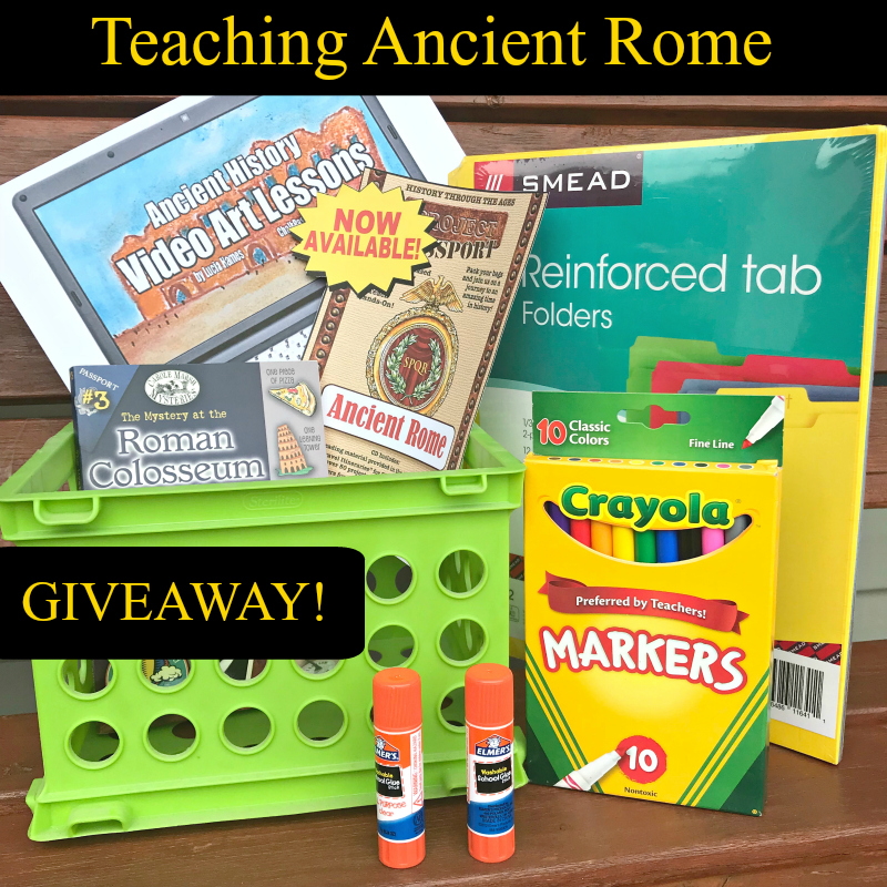 Homeschool Resources for Teaching Ancient Rome - StartsAtEight