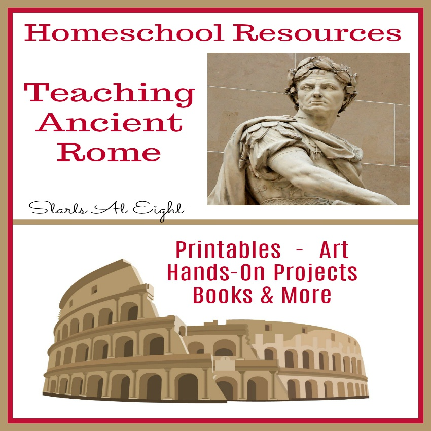 Homeschool Resources for Teaching Ancient Rome