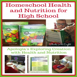 Homeschool Health and Nutrition for High School