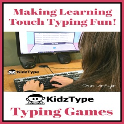 KidzType Typing Games Make Learning Touch Typing Fun!
