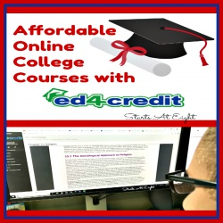 Affordable Online College Courses with Ed4Credit